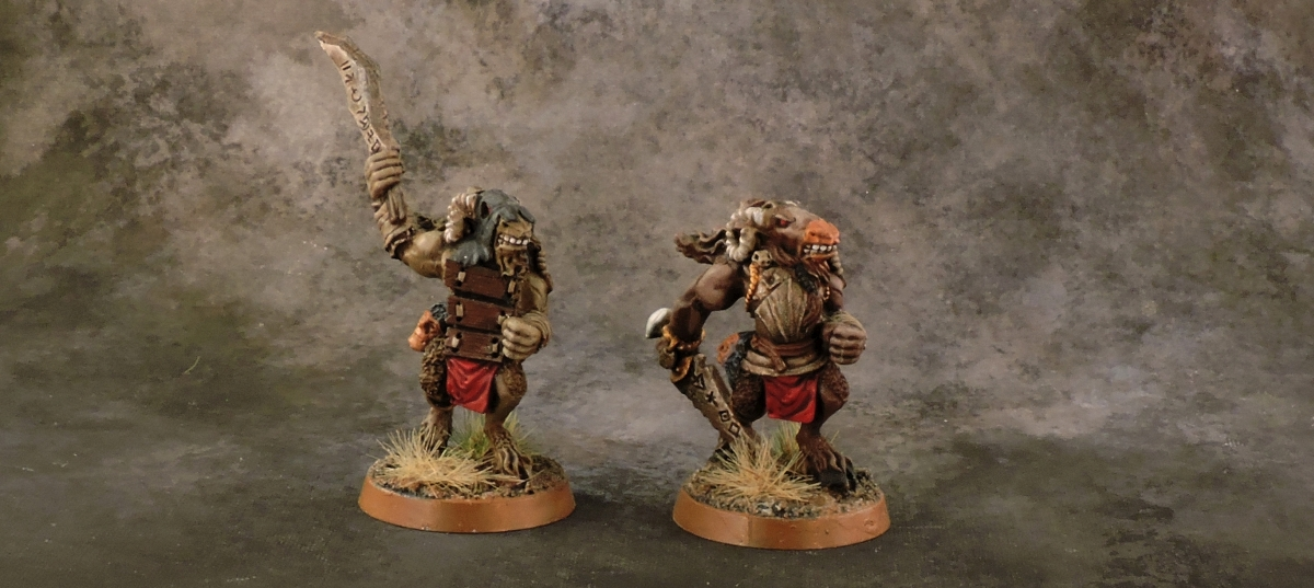 Mordheim Possessed - Beastmen