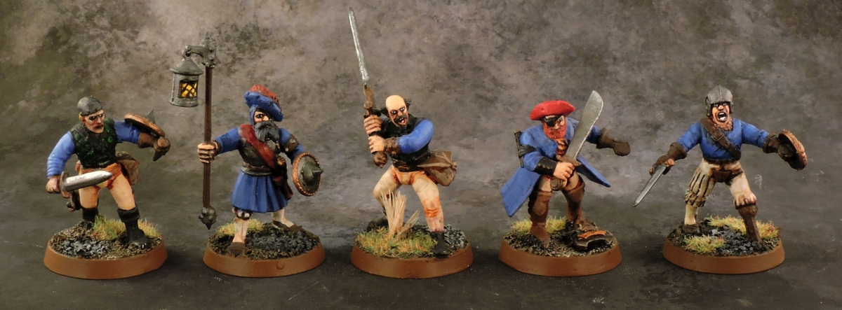 Mordheim Reiklander - Swordsmen