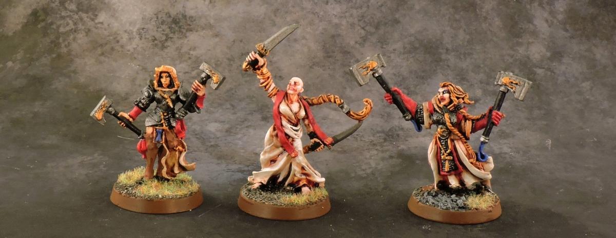 Mordheim Sisters - Heroes