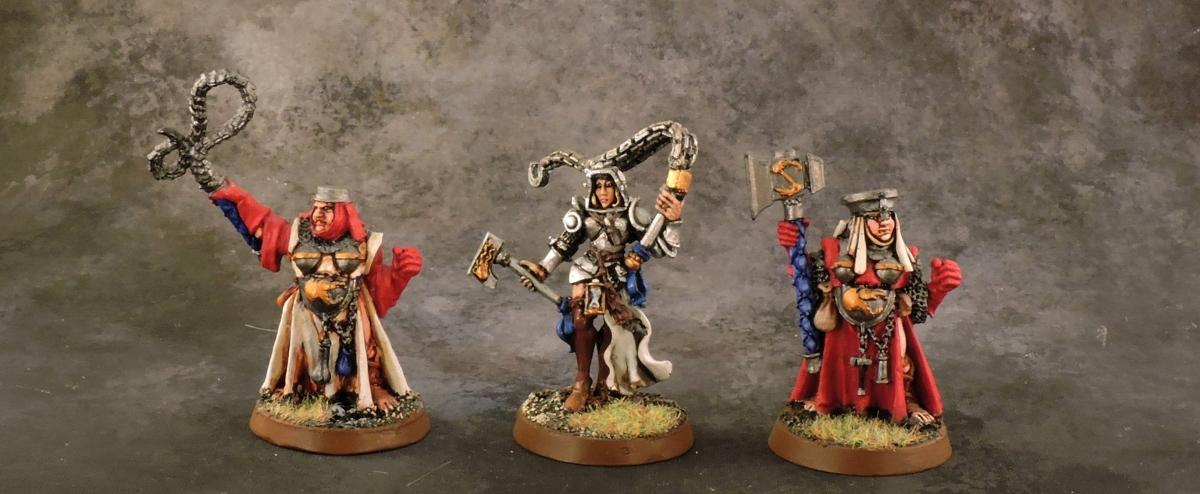 Mordheim Sisters - Leaders
