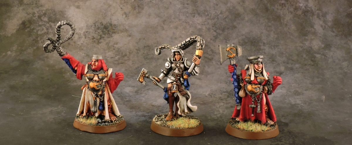 Mordheim Sisters - Leaders