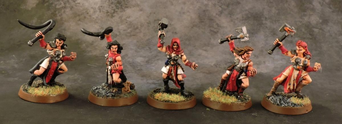 Mordheim Sisters - Novices