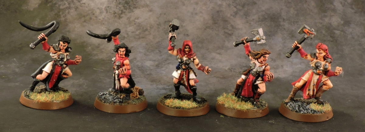 Mordheim Sisters - Novices