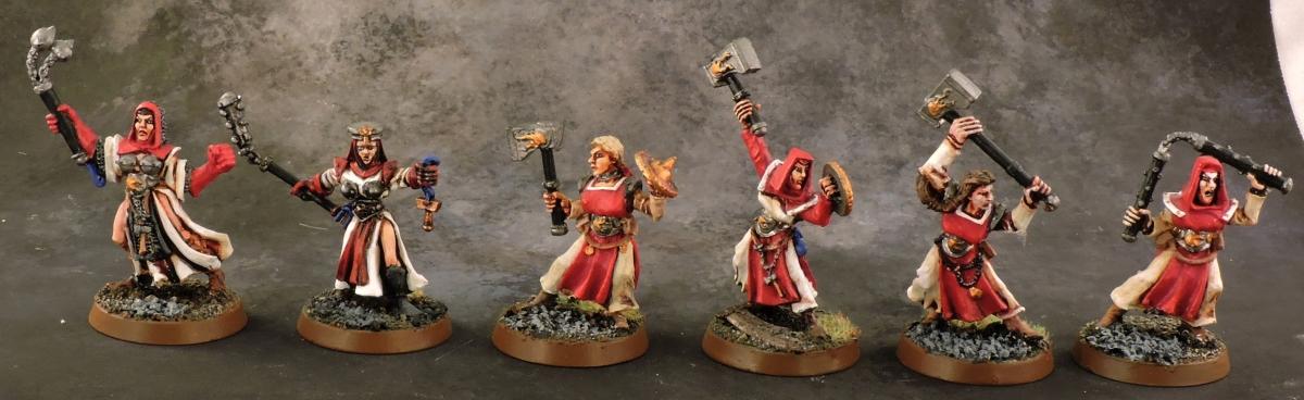 Mordheim Sisters - Sisters