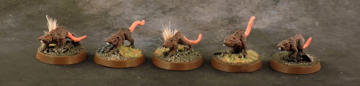 Mordheim Skaven - Rats