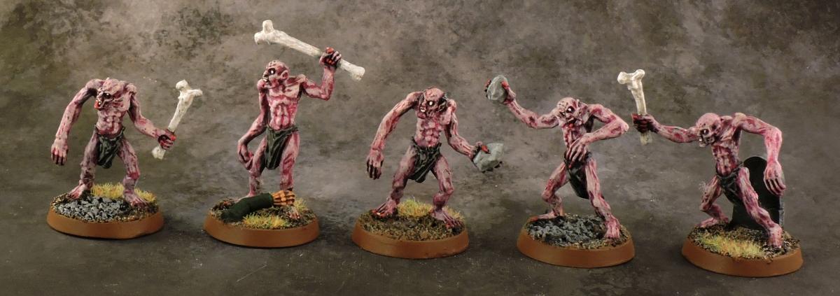 Mordheim Undead - Ghouls