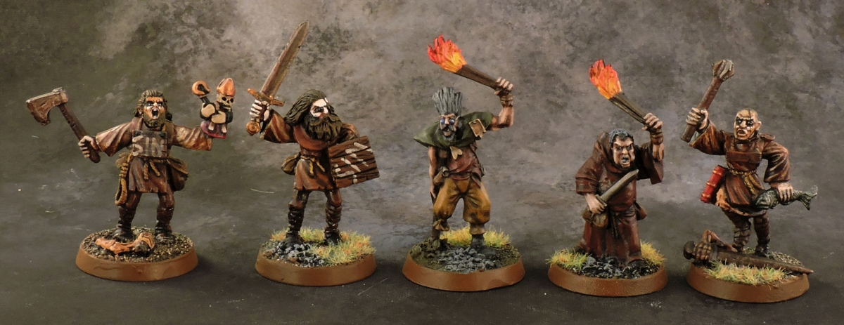 Mordheim Witch Hunter - Mob