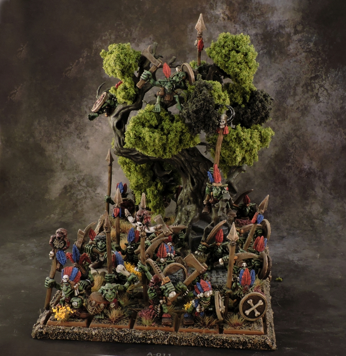 WFB Orcs - Forest Goblins