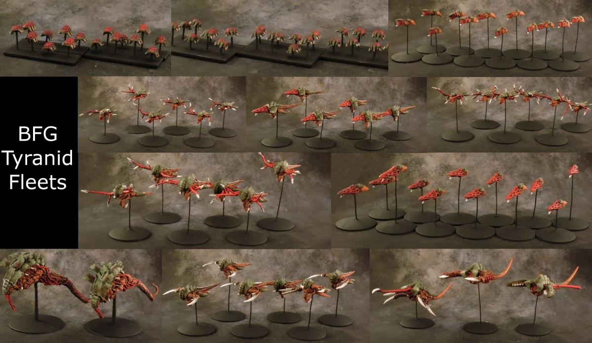 BFG - Tyranid Fleet