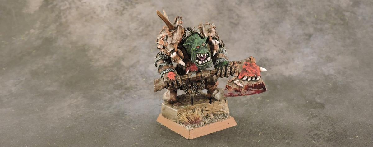 WFB Orcs - Big Boss